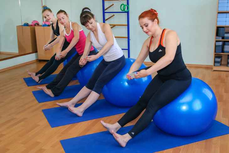 pilates-fitball